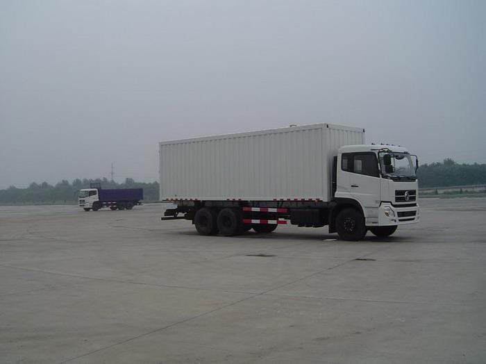 东风厢式运输车、东风集装箱