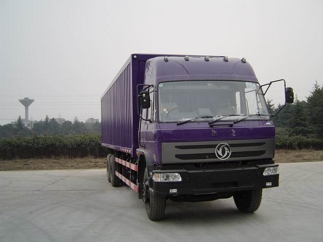 东风三桥厢式运输车、集装箱运输车