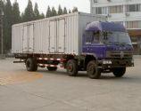 东风牌厢式运输车、厢式运输车图片