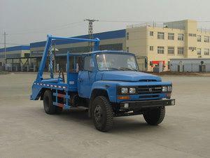 东风摆臂式垃圾车图片、摆臂式垃圾车销售