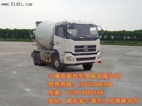 东风牌混凝土搅拌车 DFL5251GJBA1