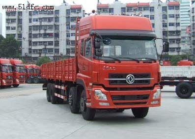 东风天龙315马力前四后八9米6平板载货车价格DFL1311A4