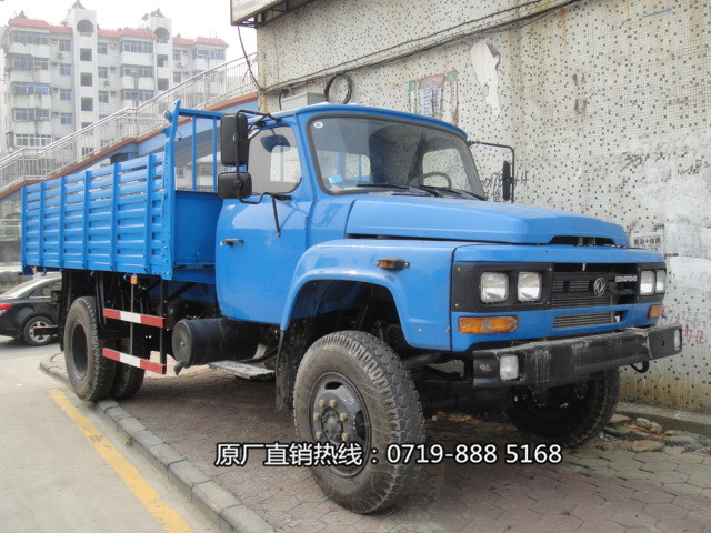 东风尖头四驱越野自卸车EQ1093F厂价直销图片